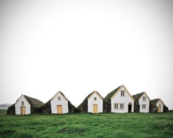 anthropologie:  Little homes of earth and wood, Iceland. Via: Lost In America
