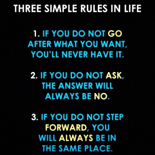 Rules of Life #instaquote  (Taken with Instagram)
