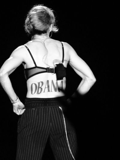 Four More Years To Save The World: Madonna Endorses President Obama