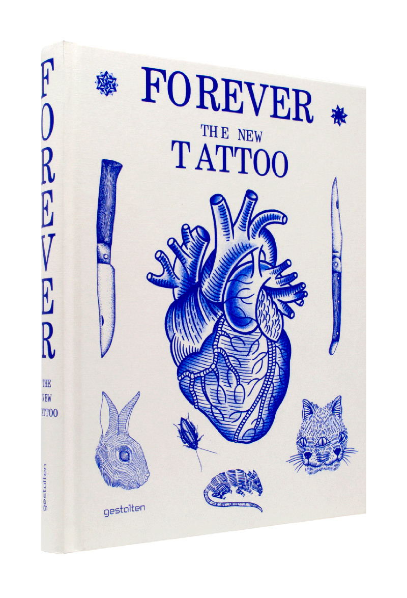 "I'm proud to announce that my work is featured in ""FOREVER"" The New Tattoo Book. Featuring some of my favourite artists and good friends."