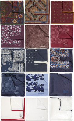 Thanks to downeastandout for this bit of pocket square collage action