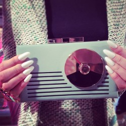 vintage radio or spring's must have clutch? (Taken with Instagram)