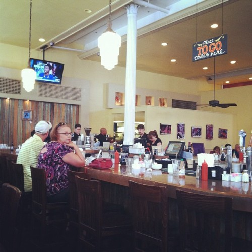Breakfast time already? (Taken with Instagram at The Ruby Slipper)