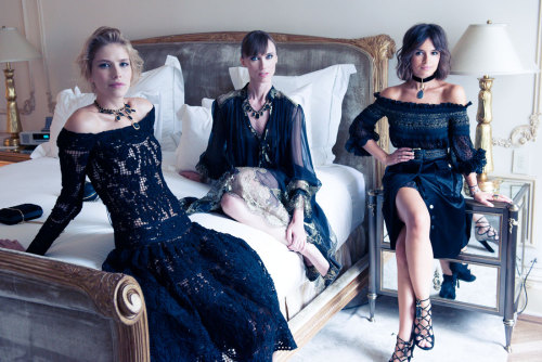 Anya, Elena and Miroslava for Ferragamo FNO [source: the conveteur]