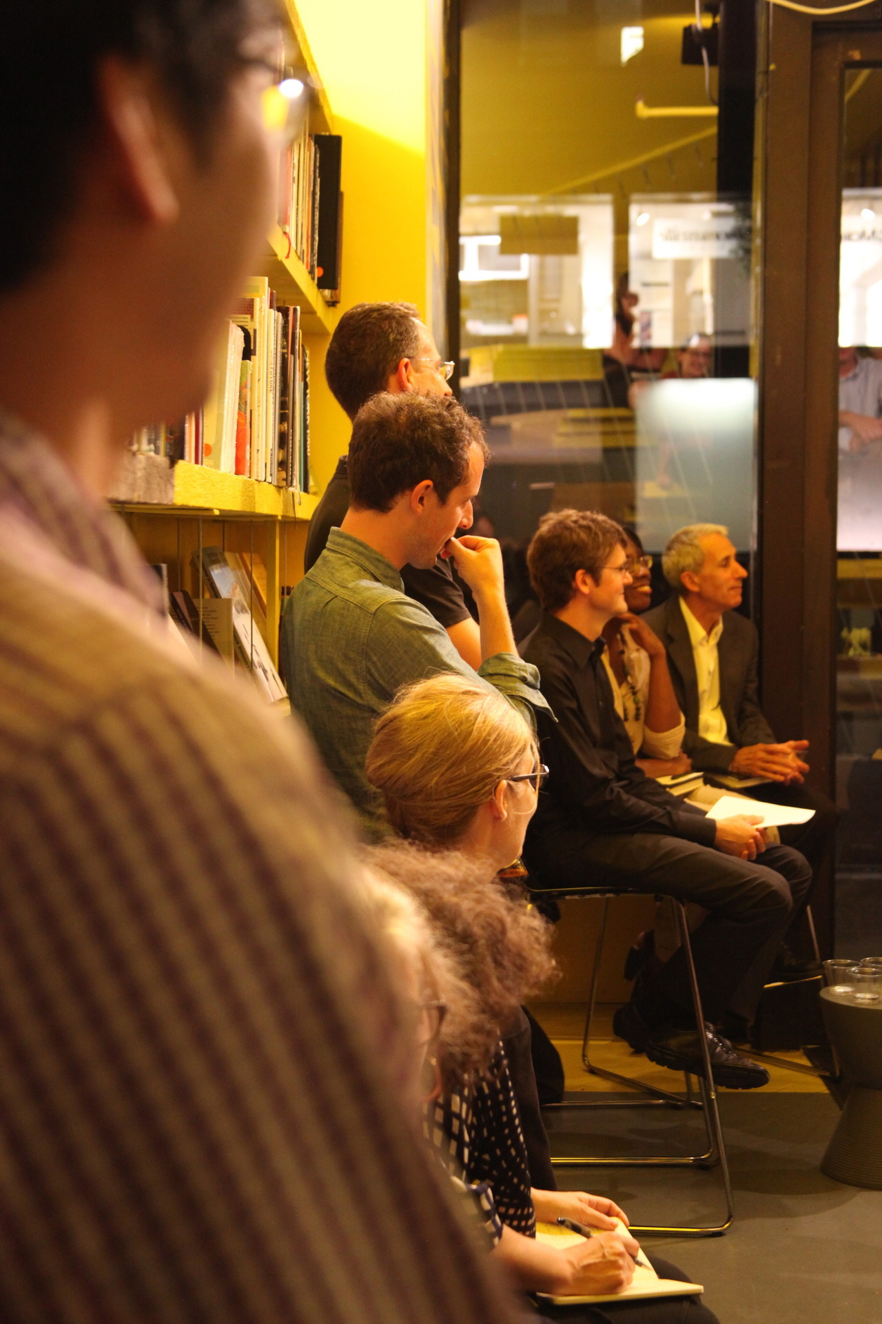 A new season of events at the bookstore kicked off last night with a panel discussion on Design After Decline, a book about how America's two largest shrinking cities—Detroit and Philadelphia—can use innovative design and planning to shape a brighter future for shrinking cities and their residents. We were lucky to have author Brent D. Ryan joined in conversation by Toni Griffin and Robert A. Beauregard.