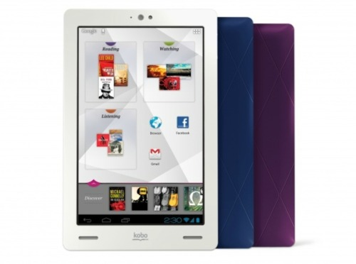 Capitalizing on the buzz around Amazon's Kindle event last week, competitor Kobo announced a new 7-inch Android tablet and two new e-readers. The Kobo Arc is a potential rival to the Kindle Fire and Google's Nexus 7. The Kobo Glo is a front-lit e-reader with a 6-inch E Ink screen, Wi-Fi, and 1GB of storage, while the Kobo Mini is a shrunken version of the Canadian company's popular Kobo Touch, offering similar specs with a 5-inch display.