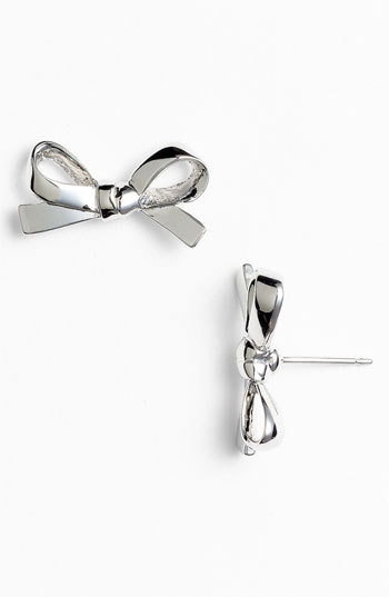 I am such a sucker for bow earrings. Especially Kate Spade bow earrings.
