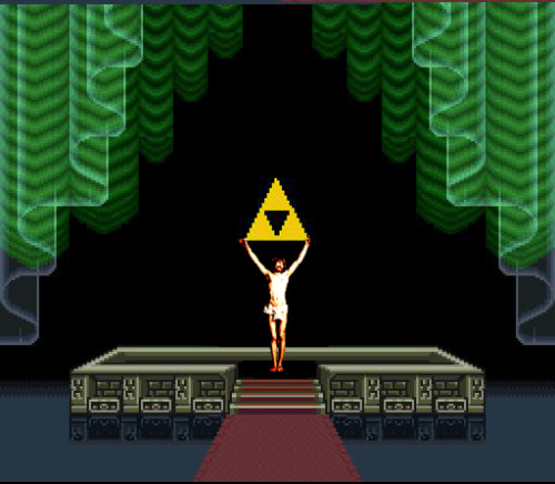 jesus-everywhere:  Jesus in Legend of Zelda