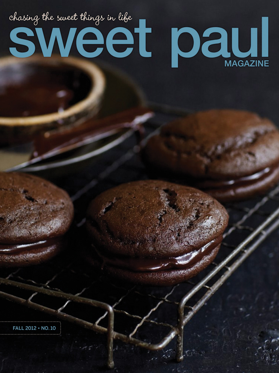 Sweet Paul Fall 2012 cover. Full issue live today! Print copies available in Anthropologie, West Elm, Terrain & Unionmade stores. Or online here.