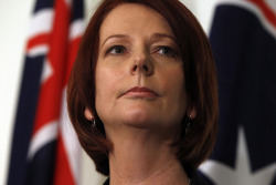 Julia Gillard - Prime Minister of Australia A prime minister is the most senior minister of cabinet in the executive branch of government in a parliamentary system Whether you agree with her policies or not, this Ginger made it to the pinnacle of Politics in the Greatest Country in the World, Australia.