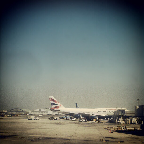 Nothing like a #britishairways #747 #airplane #avgeek #aviation  (Taken with Instagram at John F. Kennedy International Airport (JFK))