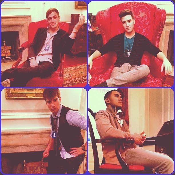 @HeffronDrive Big Time Rush looking Presidential in the White House #RandomCameraRollPhoto