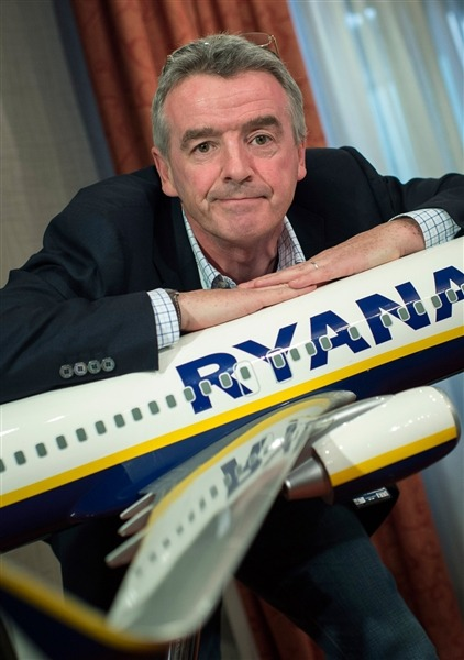"Ryanair CEO says ""stupid"" passengers deserve hefty fees"