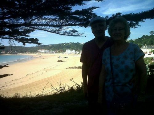 Bit shadowy, but my grandparents are currently visiting the island and my mum's been taking them out to all our fav places. This is a little patch of woodland overlooking St Brelade's Bay. So gutted I'm stuck in uni, I want to be there!