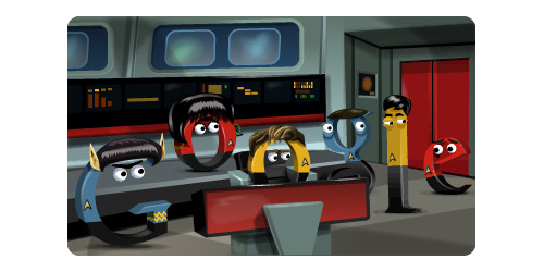 Today's Google Doodle is brilliant.