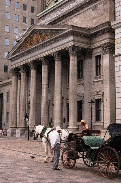 (via Bank of Montreal, a photo from Quebec, Central | TrekEarth) Montreal, Quebec, Canada