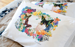 Stunning new pillowcases by Fumi Mini Nakamura