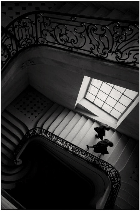 greeneyes55:  High school staircase Photo: Martine Franck