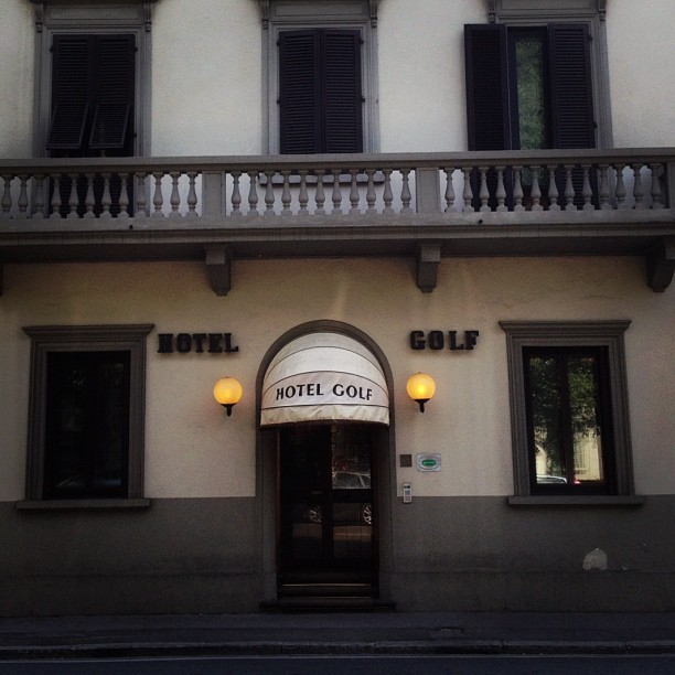 #golfwang should def hit up Firenze.  (Taken with Instagram at Hotel Golf Florence)