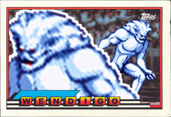 Wendigo's Topps Big Card