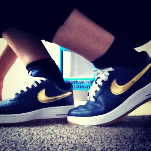 #Nike #airforce1  (Taken with Instagram)
