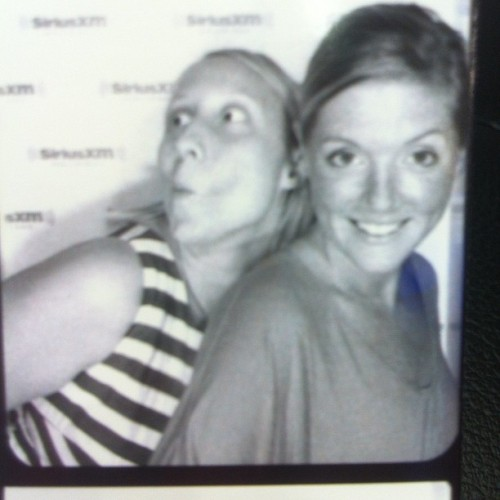 Oh hi photo booth at Sirius (Taken with Instagram)