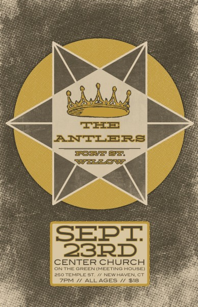Client - Manic ProductionsLocation - Hamden, CTShow poster for The Antlers. Interested in working together?  Email me - brianmorgante@gmail.com