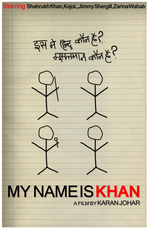 My Name Is Khan [2010] by Bharath Mohan