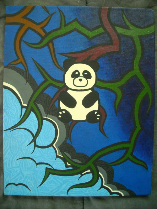 Original painting I created entitled Panda