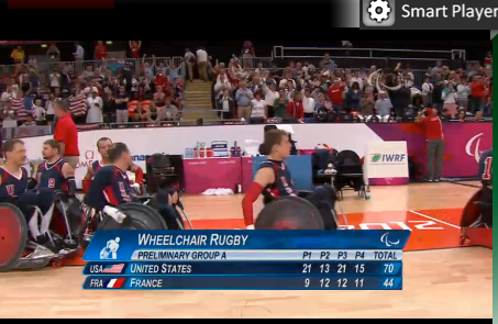 Hey Spokes! Team USA defeats Team France 70-44. We're excited for semi-finals against Team Canada.