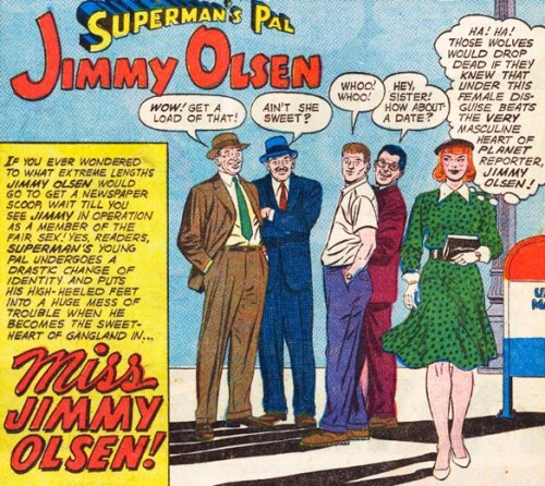 Superman's Pal, Jimmy Olsen (has a killer set of pins on him)