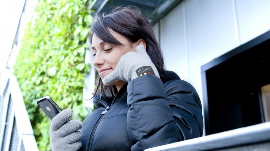 """hi-Call glove gives new meaning to gesture-controlled calling"" The hi-Call is paired to the user's existing Bluetooth-capable phone, which must be no farther than 12 meters (39 feet) away. A tiny speaker is built into the glove/handset's thumb, a microphone is in its pinkie finger, and a multi-purpose button control on the back allow users to accept, reject or end calls (unlike some previous phone-hand concepts, it doesn't utilize bone conduction). To make calls, the phone itself needs to be accessed, unless it is capable of voice-dialing – in that case, calls can be placed using the glove's button control and microphone. Once a call has been made, subsequent calls to that number can be made from the hi-Call, using its ""call last number"" function. ____________________ There's a lot to be said regarding the benefits of gestural interfaces (i.e. don't require a physical object which cuts down on the impact of manufacturing). That being said, I like this conceptually but still would rather have a handheld banana phone. That way, if I was walking down the street, it's not like I'd be soliciting everyone to ""call me maybe"" and instead, hey, I'm just talking on my banana phone. #WhatTheHellAreYOULookingAt"