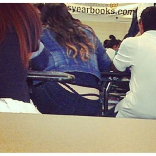 Repost the things we see at school!! (Taken with Instagram)