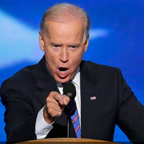 you, SIR have angered the Biden. Literally.