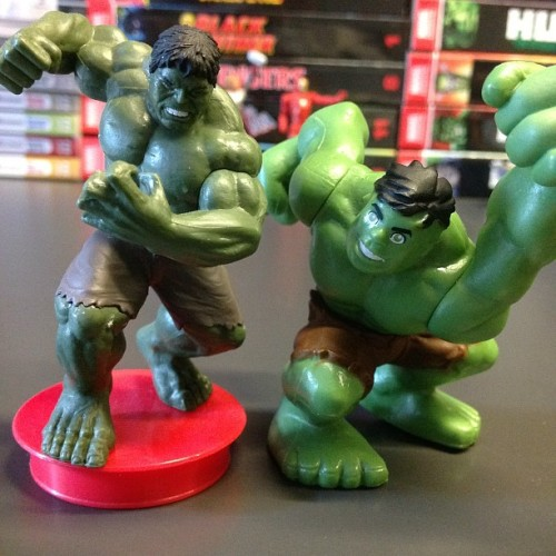HULKS DANCE! #Marvel #Hulk (Taken with Instagram)