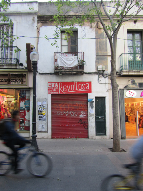 CSOA Revoltosa, a squatted social center in Barcelona. Check out more photos here.