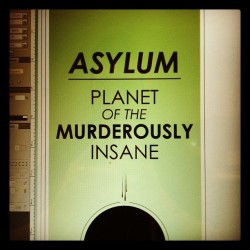 Taken with Instagram Welcome to the planet Asylum, home to the only enemy Daleks fear more than the Doctor, their own twisted kind.
