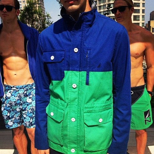 And here's how @Nautica does color-blocking for spring. (via @GarrettMunce) (Taken with Instagram)