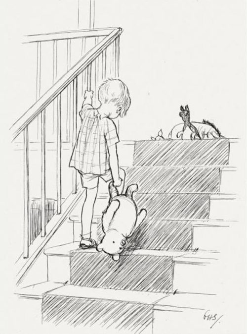 "vintagechampagnefever:  ""Friendship,"" said Christopher Robin, ""is a very comforting thing to have."""