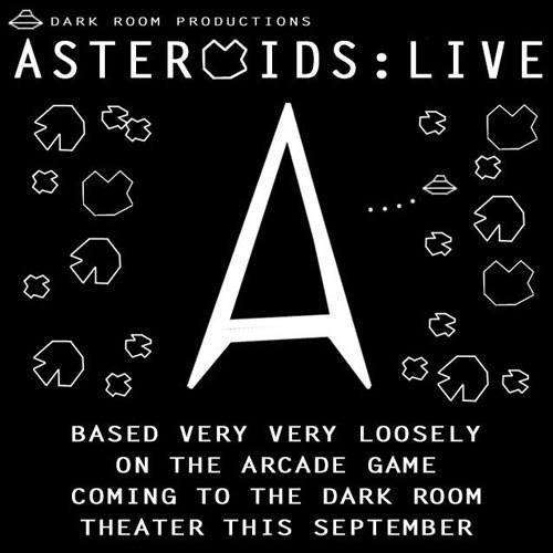 9/7-29(Fri/Sat). Astroids: Live @ Dark Room Theater. 2263 Mission St. SF. $20. 8pm. Tickets Available: Here. More Information: Here.   The Administration, a conspicuously vague, profiteering governmental organization, is all that remains of NASA and the CIA. Their true purpose is unknown, but their cover mission is to blast asteroids into space dust in order to clear commerce routes for the new tricky hyperspace drives on all new freighters. Commanding one such ship is Captain Ron Piel of Spinner Ship Alpha. When he happens across a derelict ship with all crew save one with a suspicious story, Russian shooter Ivan Klosskey, they reluctantly take him aboard.