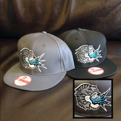 New Era snapbacks are back in! Black or grey, $25 each. Come in and get one! (Taken with Instagram at South Shore Tattoo Co.)