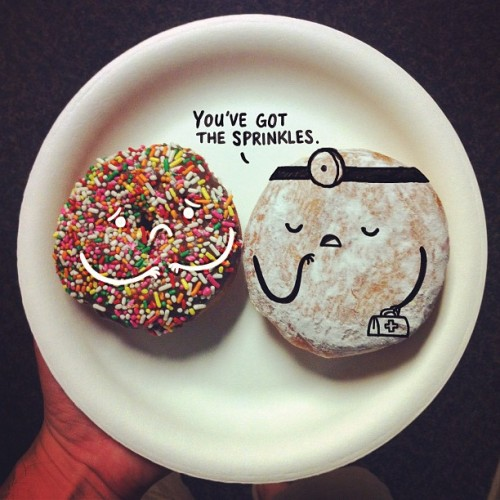 you've got the sprinkles
