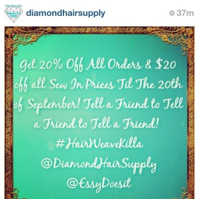 #Forthatass! Contact @diamondhairsupply and @essydoesit !! • (Taken with Instagram)