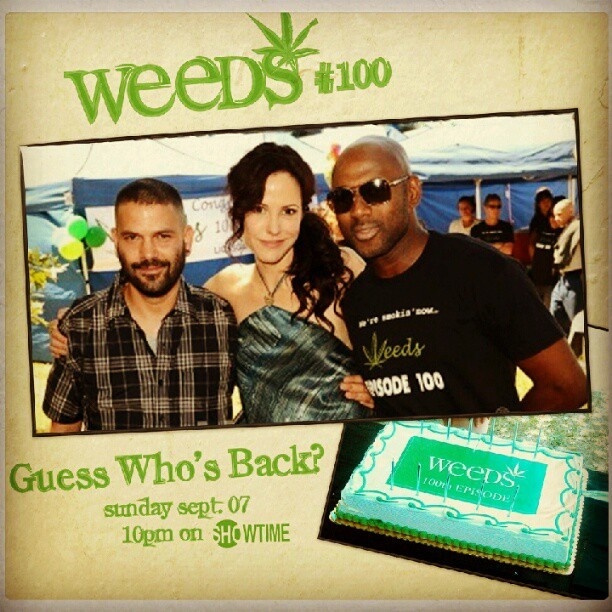 Finally, I get to work w/ Mary-Louise Parker AND @GuillermoDiazYo #Weeds (Taken with Instagram at Wildflower Cafe)