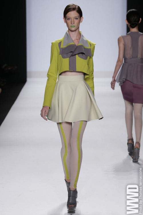 womensweardaily:  Project Runway RTW Spring 2013