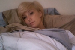 Sick in bed.. ugh