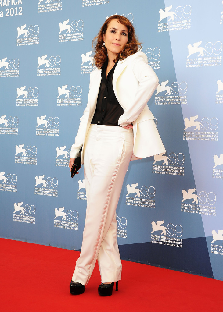 Noomi Rapace at the Venice Film Festival photocall for Passion, September 7th
