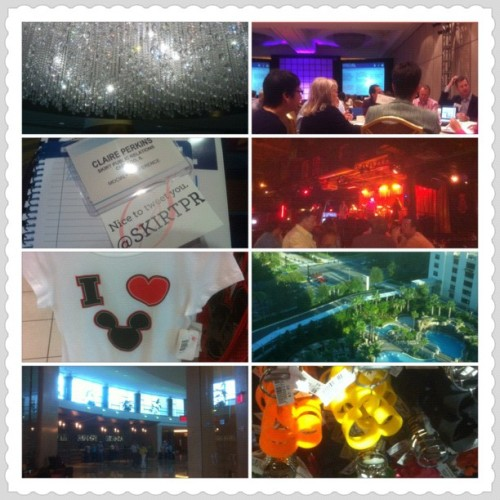 #ICSCMOCIAL Orlando trip, in a nutshell (Taken with Instagram)