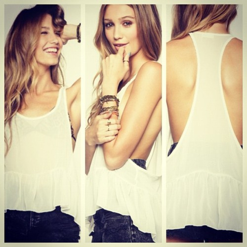 brandyusa:  Tatyana Top! (Taken with Instagram at www.brandymelvilleusa.com)
