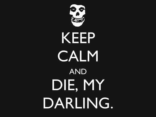 It's A Glen Danzig Kinda Day. Misfits. Samhain. Danzig. Happy Effin Friday! Now Die Die Die My Darling ♥